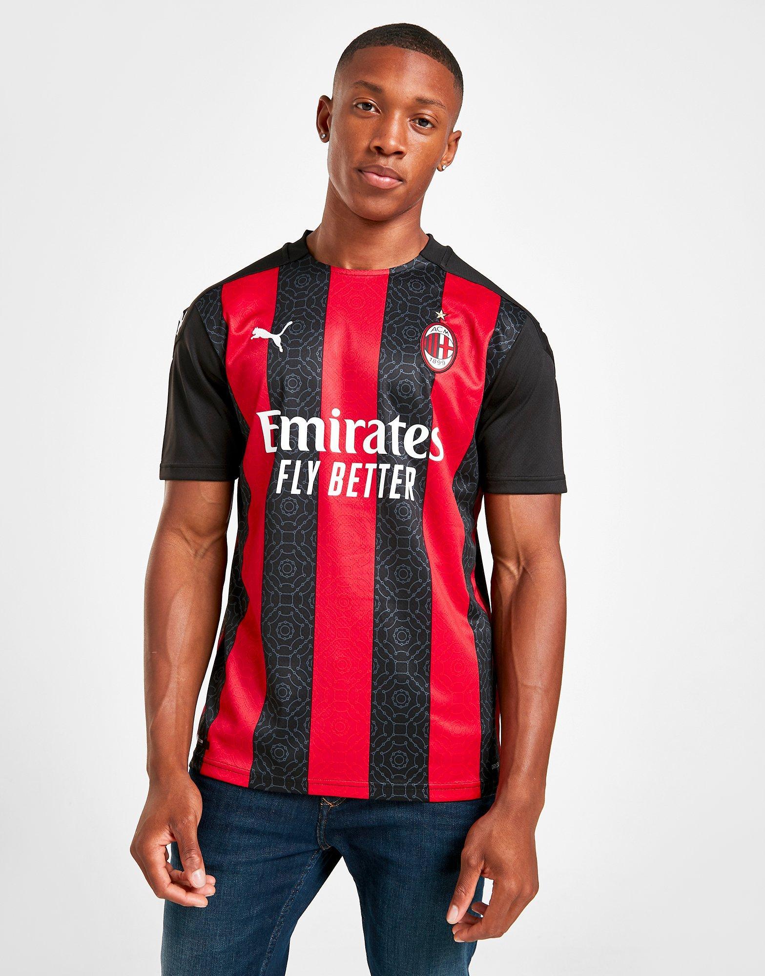 Buy Puma Ac Milan 2020 21 Home Shirt Jd Sports