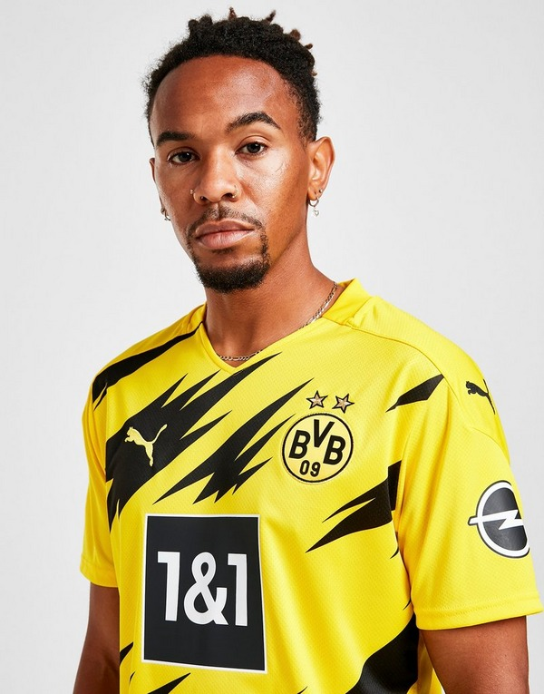 Buy Yellow Puma Borussia Dortmund 2020 21 Home Shirt