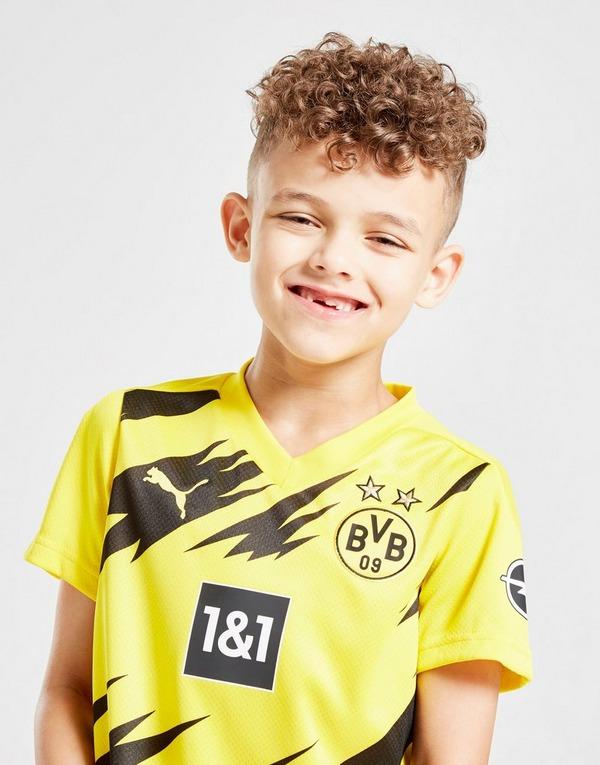Puma Borussia Dortmund 2020 21 Home Kit Children