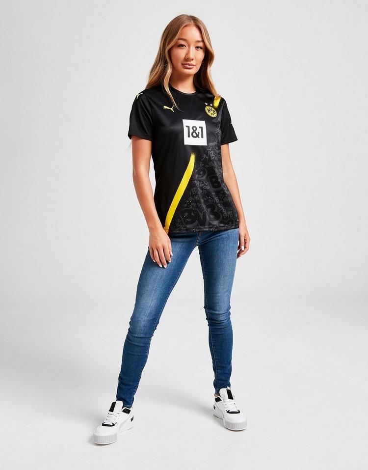 Puma Borussia Dortmund 2020/21 Away Shirt Women's