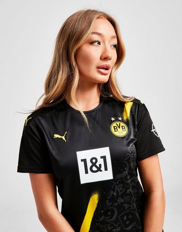 Buy Puma Borussia Dortmund 2020 21 Away Shirt Women S Jd Sports