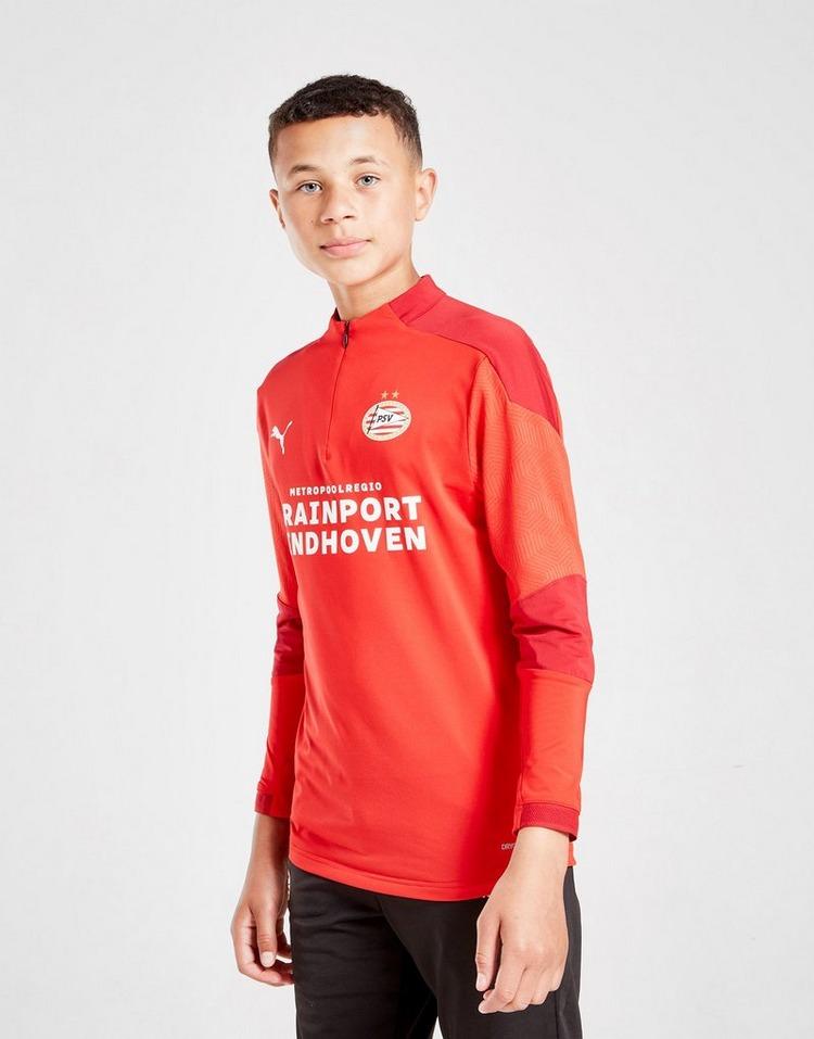 Puma PSV Eindhoven Training 1/4 Zip Top Junior