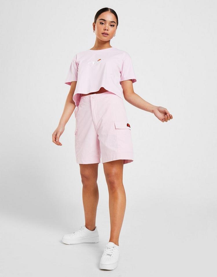 Ellesse T-shirt Contrast Crop Femme