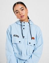 Ellesse Woven 1/4 Zip Crop Jacket