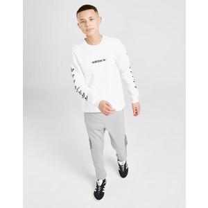 adidas Originals Trefoil Repeat Crew Sweatshirt Junior