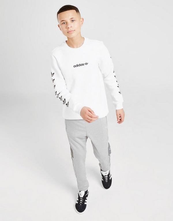 Acheter White adidas Originals Sweat shirt Trefoil Repeat