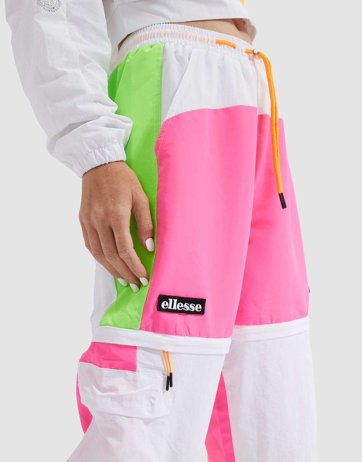 Ellesse Colour Block Woven Track Pants