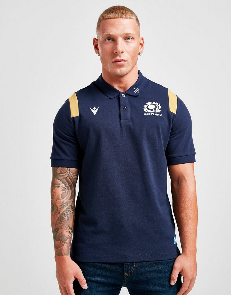 Macron Scotland RU Travel Polo Shirt