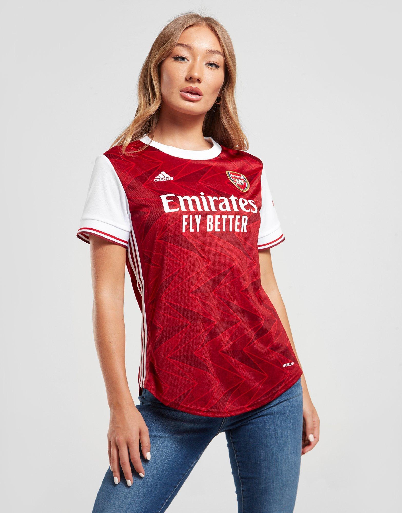 Comparación boicotear atlántico  Buy Red adidas Arsenal FC 2020/21 Home Shirt Women's