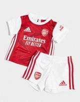 adidas conjunto Arsenal FC 2020/21 1.ª equipación para bebé (RESERVA)