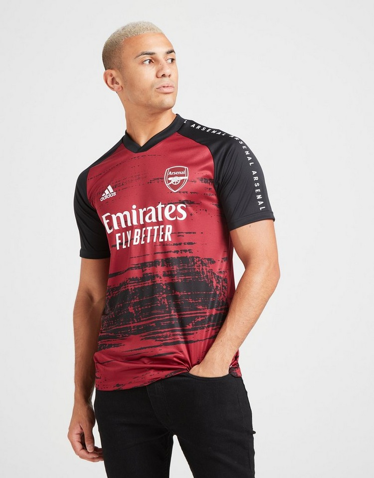 adidas Arsenal FC Pre Match Short Sleeve Shirt