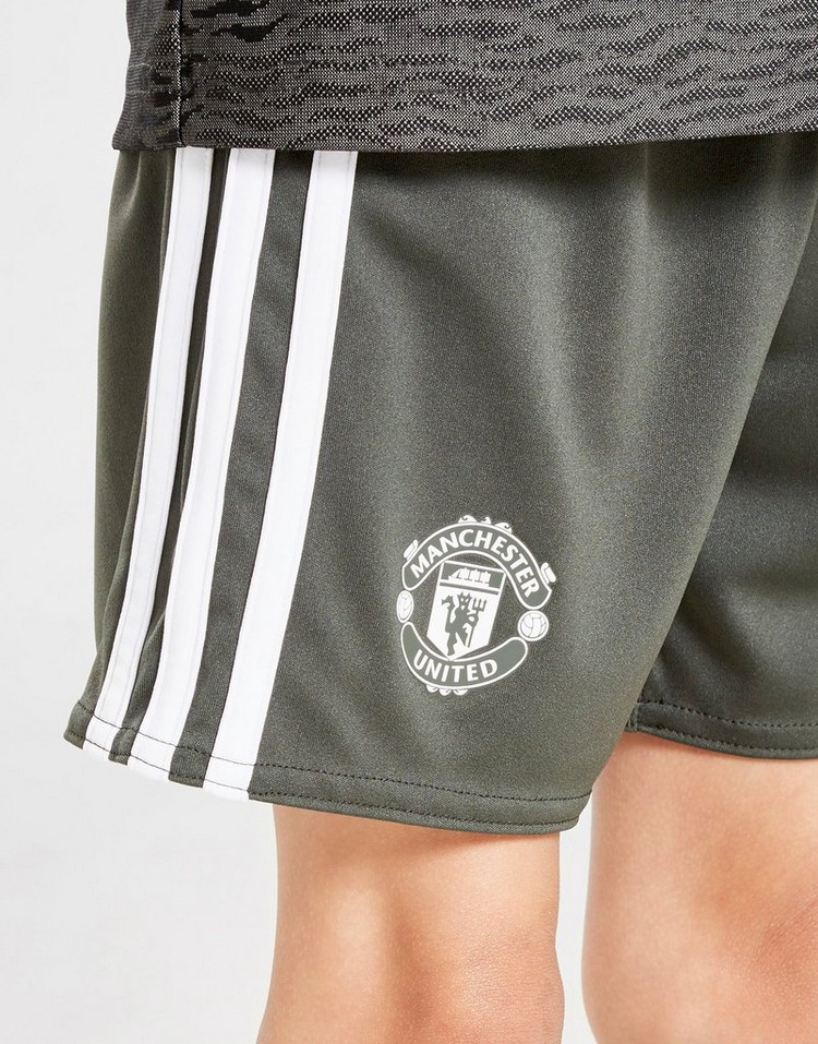 adidas Manchester United FC 2020/21 Away Kit Children