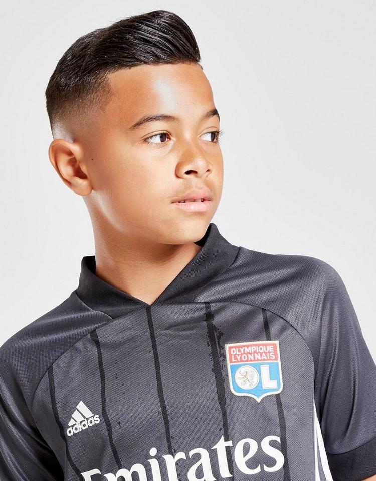 adidas Olympique Lyon 2020/21 Away Shirt Junior