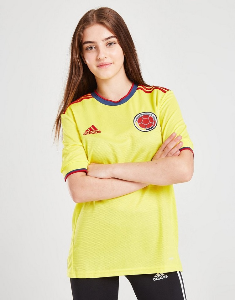adidas Colombia 2020/21 Home Shirt Junior