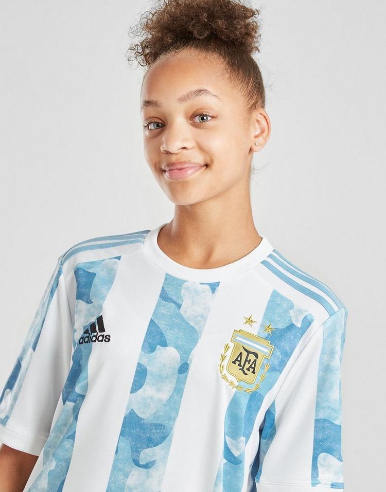 adidas Argentina 2020/21 Home Shirt Junior