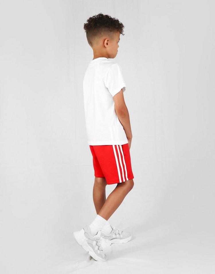 adidas Originals conjunto camiseta/pantalón corto Trefoil infantil