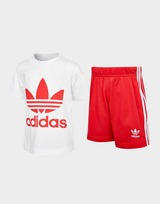 adidas Originals Trefoil T-Shirt/Shorts Set Infant