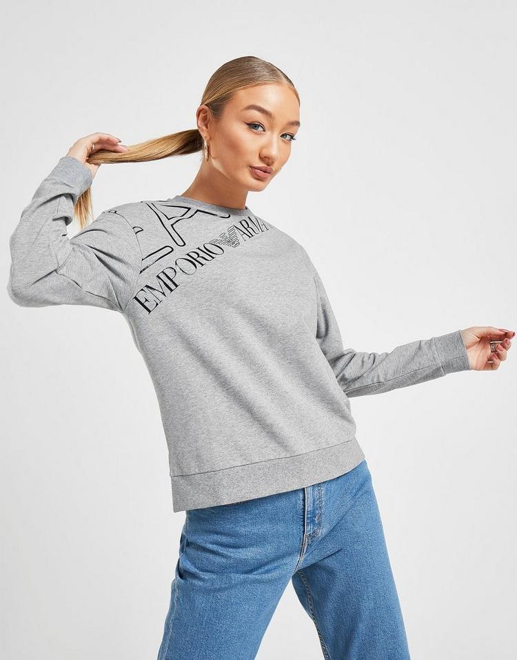 Emporio Armani EA7 Logo Crew Sweatshirt
