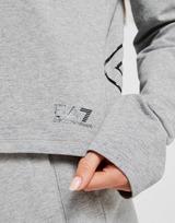 Emporio Armani EA7 Logo Crop Hoodie