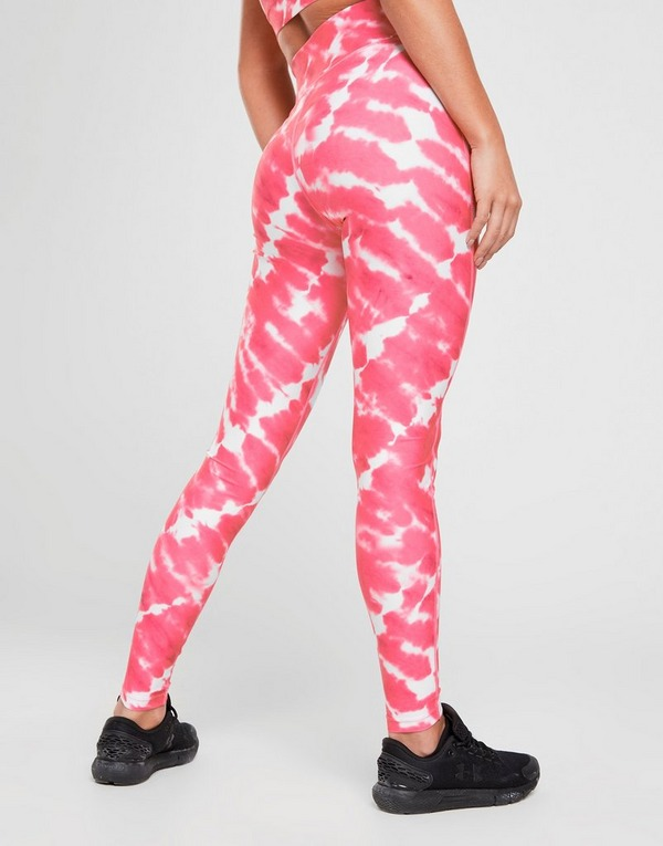 Pink Soda Sport Tie Dye Tights