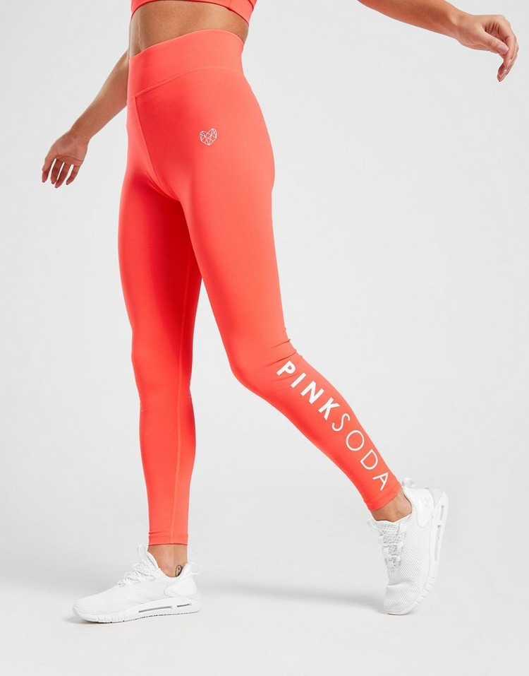 Pink Soda Sport High Waisted Core Tights