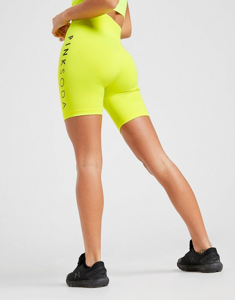 Pink Soda Sport High Waisted Core Cycle Shorts