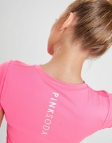 Pink Soda Sport Slim Poly T-Shirt Donna