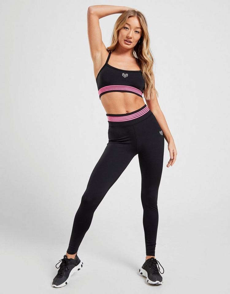 Pink Soda Sport sujetador deportivo Stripe