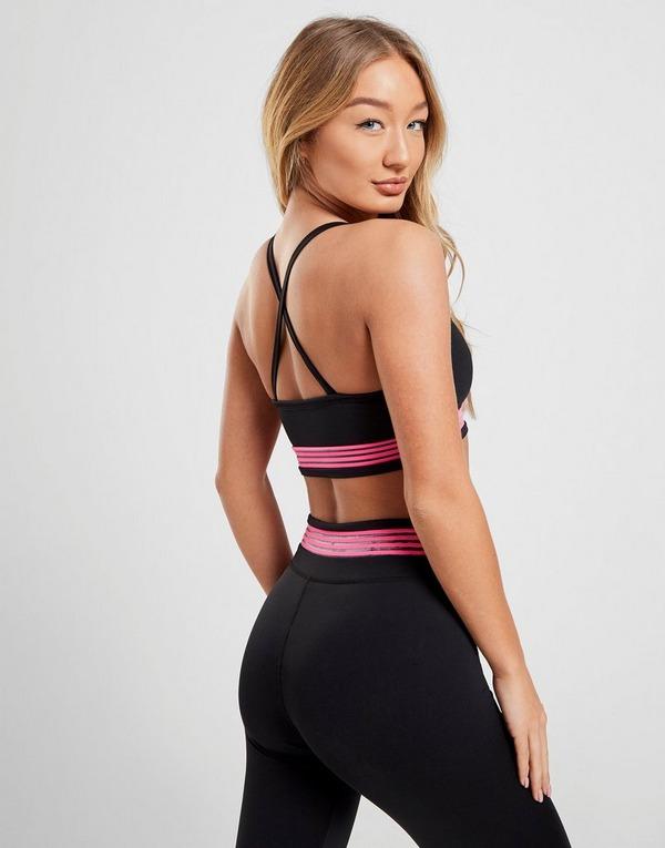 Pink Soda Sport Stripe Bra