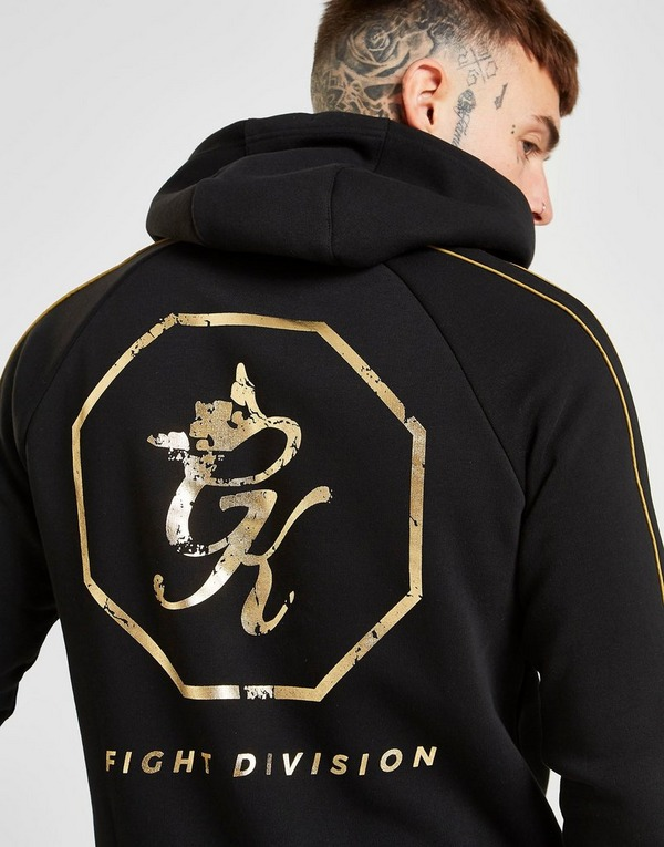 Gym King Full Zip Fight Division Hoodie