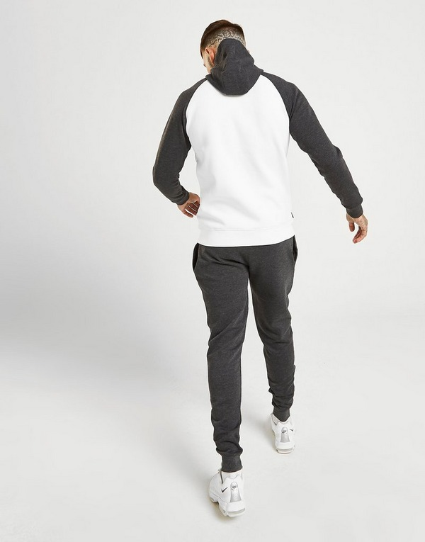Gym King Zip Through Raglan Fleece Tracksuit