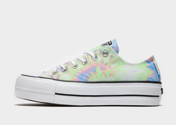 Converse All Star Ox Lift Tie Dye para mujer