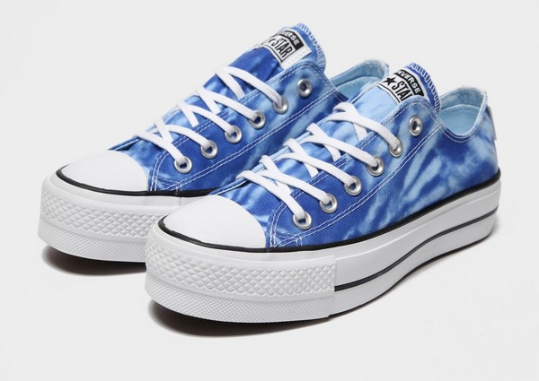 dos semanas Abierto toque  Buy Blue Converse All Star Ox Lift Tie Dye Women's | JD Sports