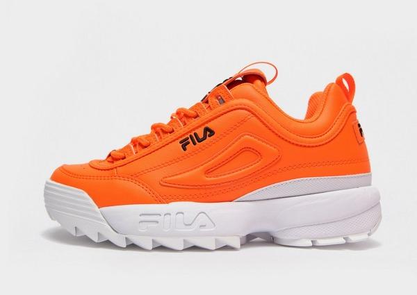 Shoppa Fila Disruptor II Junior i en Orange färg | JD Sports