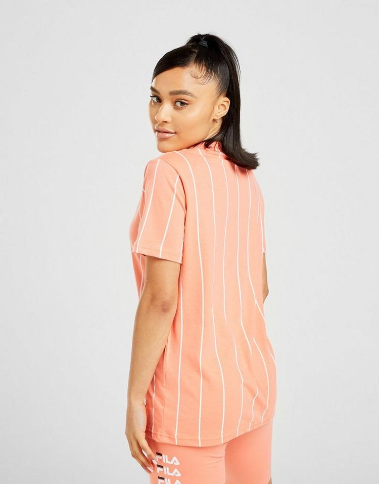 Fila Stripe Boyfriend T-Shirt Women's