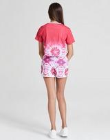 ILLUSIVE LONDON Girls' Tie Dye Fade Crop T-Shirt Junior