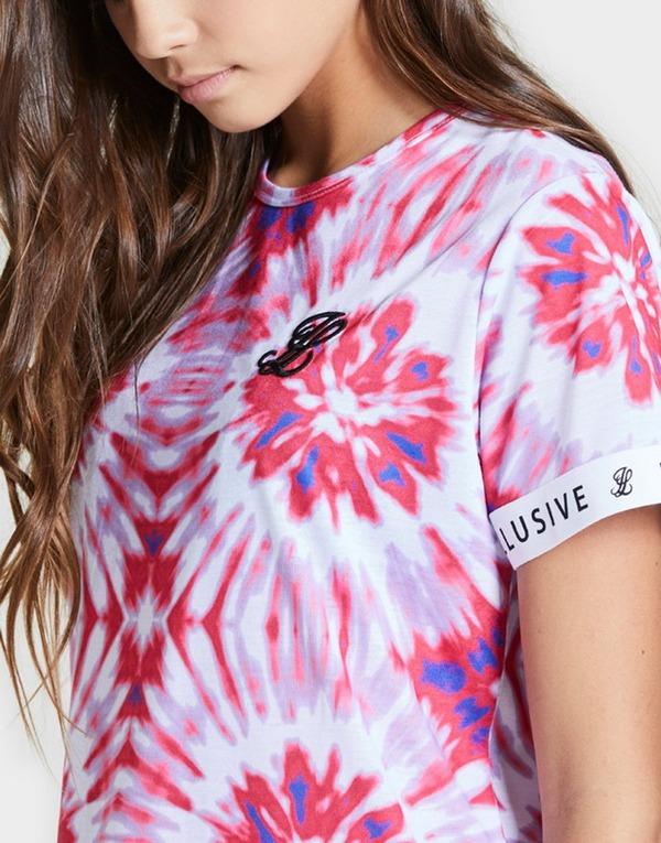 ILLUSIVE LONDON Girls' Tie Dye T-Shirt Dress Junior