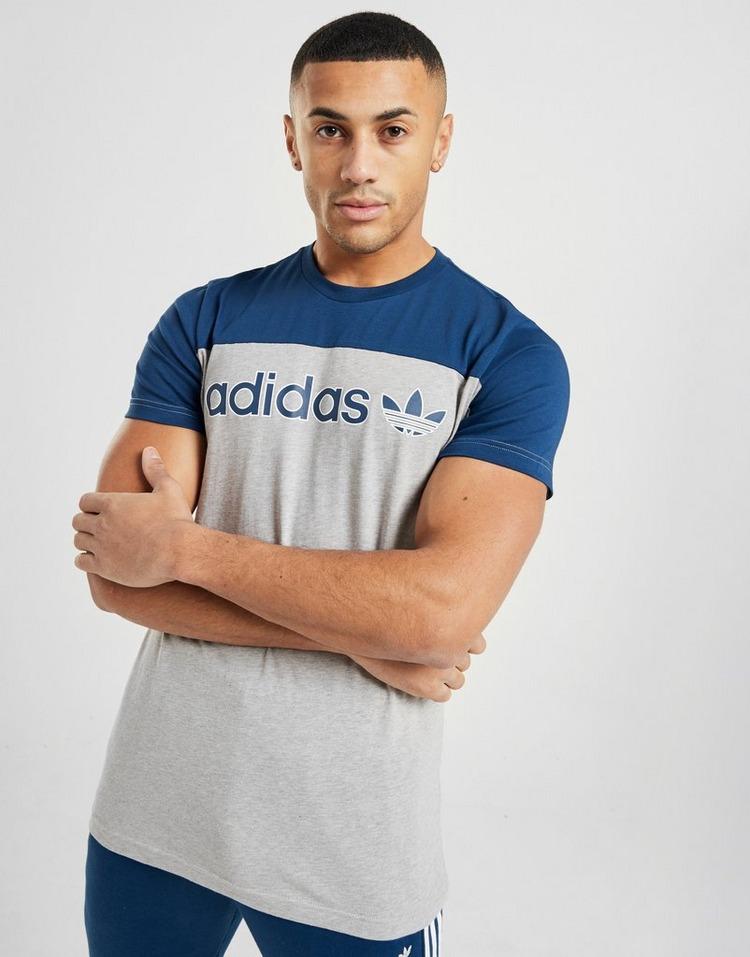 adidas Originals Linear Colour Block T Shirt