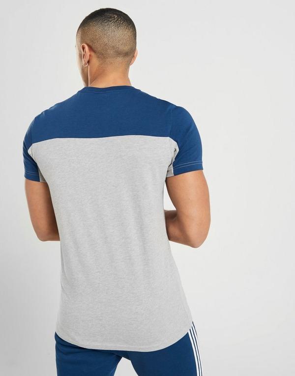 Colour Block T shirt ADIDAS Homme Bleu