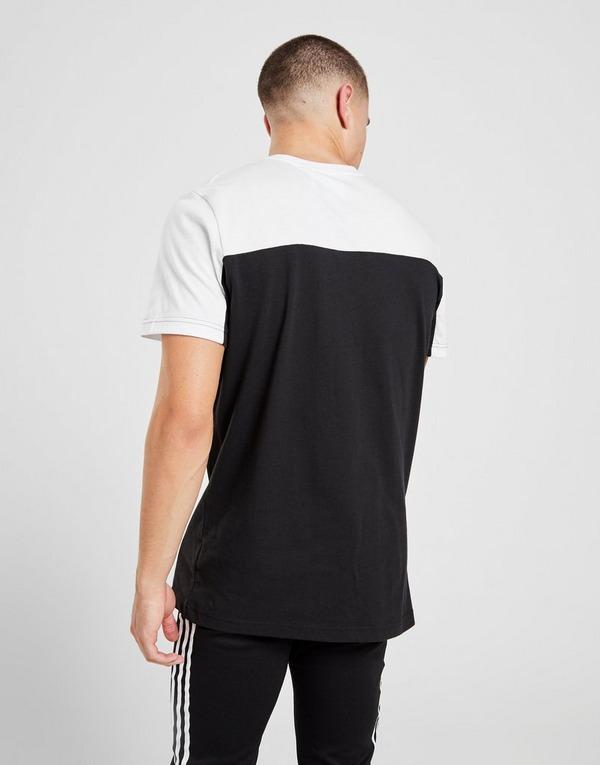adidas Originals Linear Colour Block T Shirt | JD Sports