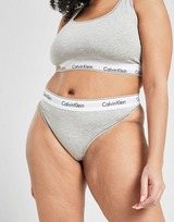 Calvin Klein Underwear Modern Cotton Plus Size Thong