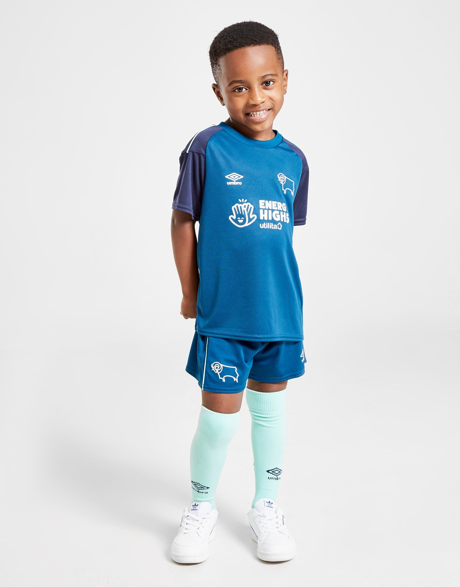 Buy Umbro Derby County Fc 2020 21 Away Kit Children Jd Sports