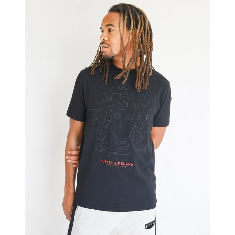 Supply & Demand Tonal Snake T-Shirt Men's