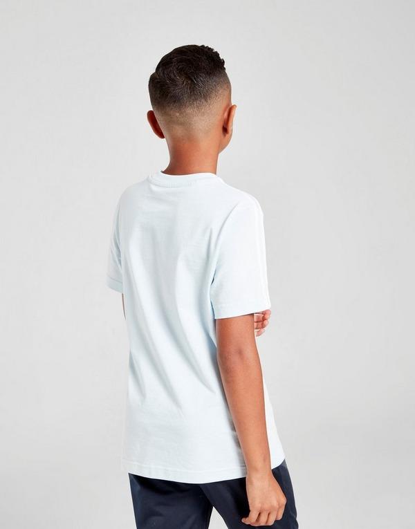 Acheter Bleu adidas Originals T shirt 3 Stripes Junior | JD
