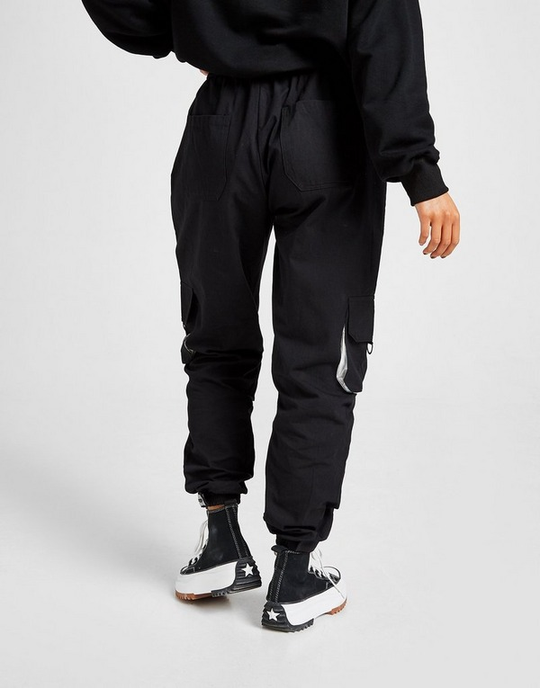 Acheter Noir Sixth June Pantalon Pocket Cargo Femme | JD Sports