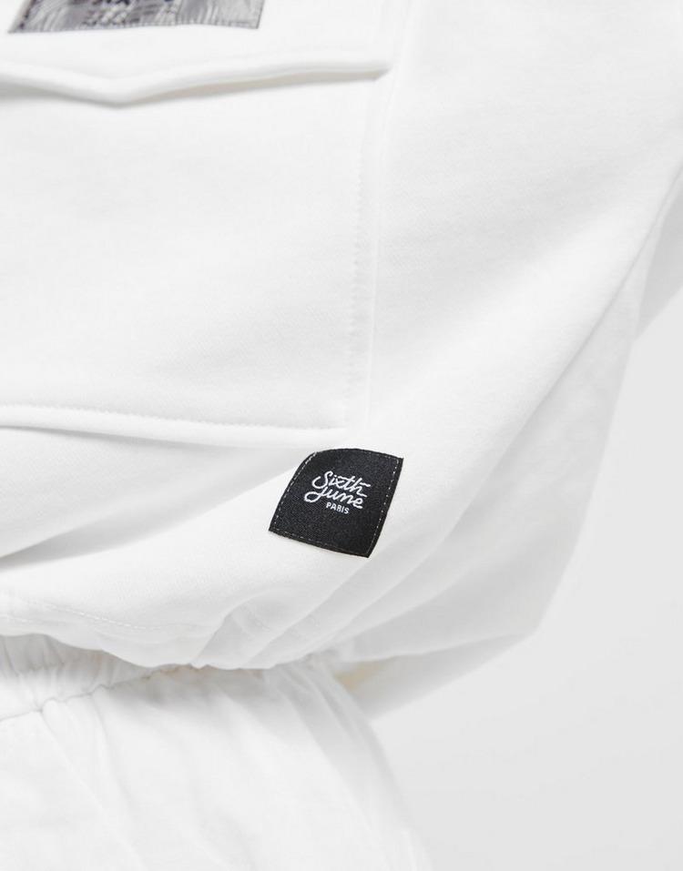 Sixth June Crop Crew Sweatshirt