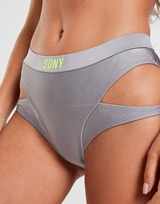 Supply & Demand Invasion Shine Bikini Bottoms