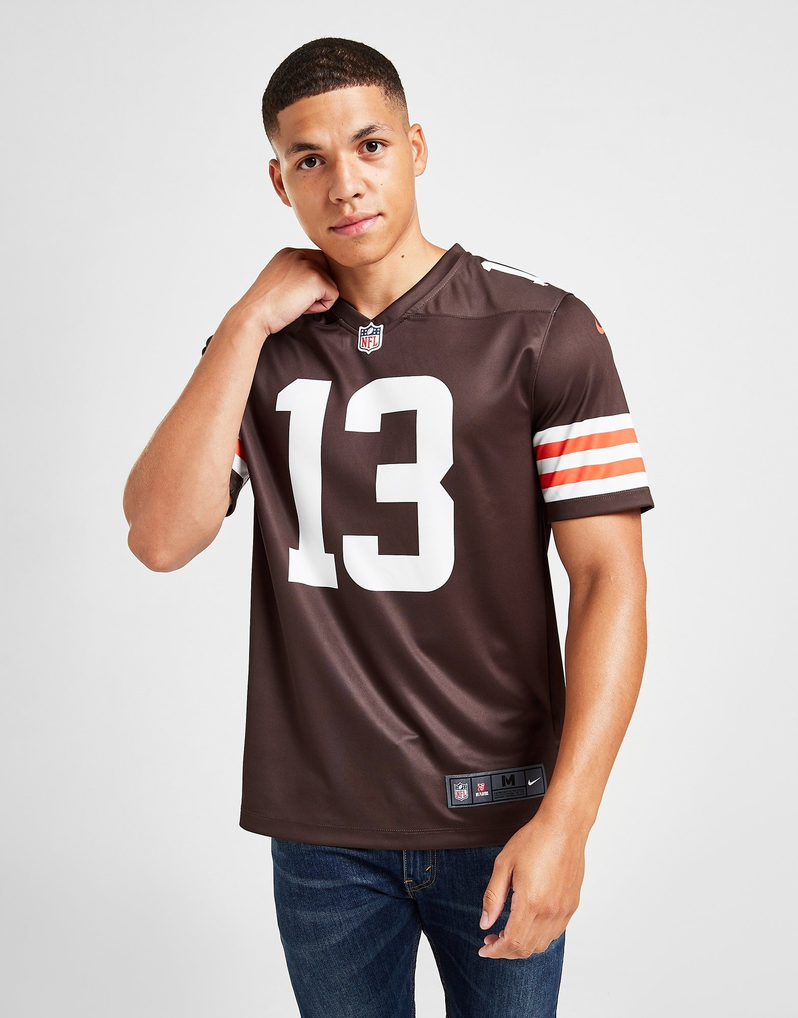 Inducir Incesante Planificado  Compra Nike camiseta NFL Cleveland Browns Beckham Jr. #13 en Marrón
