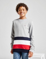 Tommy Hilfiger Global Stripe Crew Sweatshirt Junior