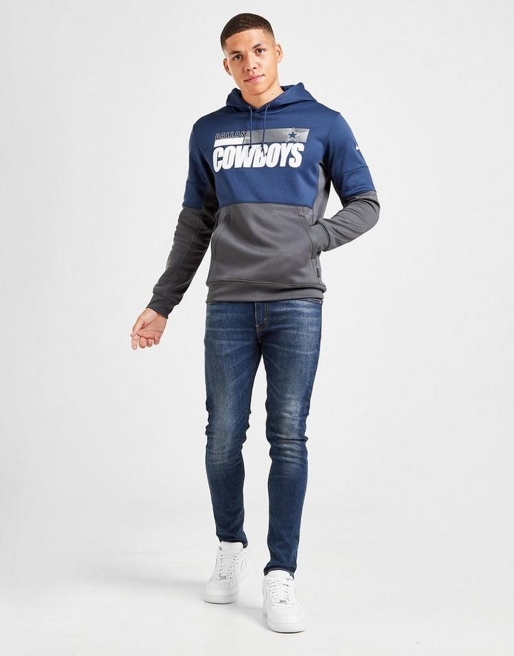 Nike Sweat à capuche NFL Dallas Cowboys Sideline Homme